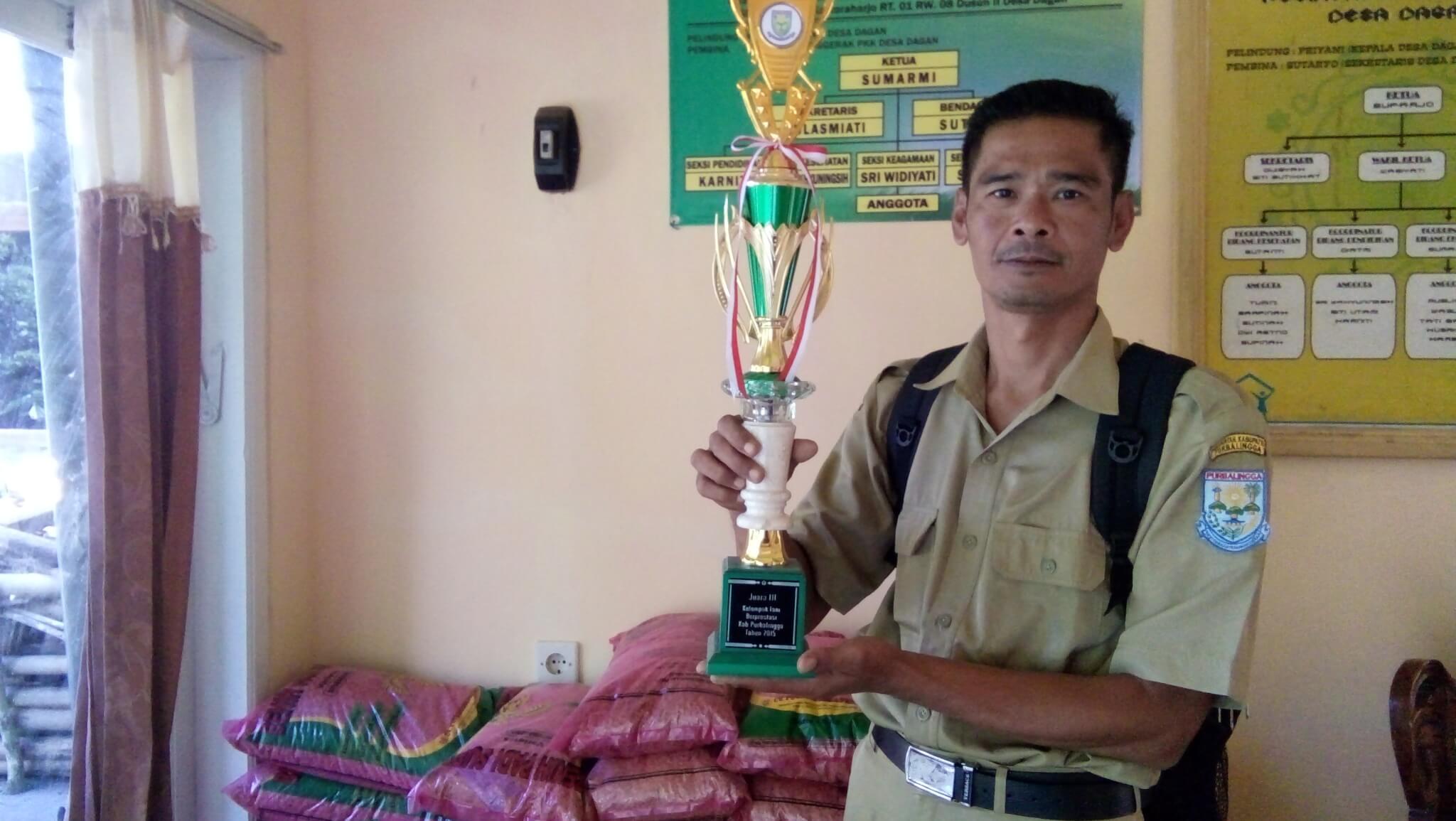 Sri Lestari, Kelompok Tani  Dusun II Desa Dagan Yang Syarat Prestasi