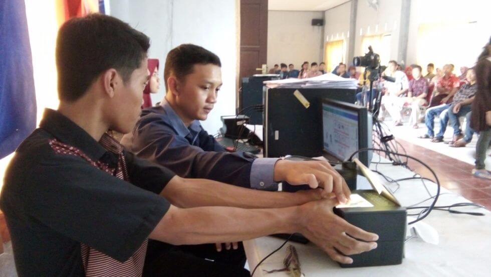 125 Warga Desa Dagan Ikuti Perekaman e-KTP Masal