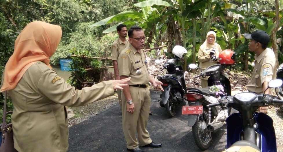 Camat Bobotsari Meninjau Pelaksanaan Proyek DD di Desa Dagan
