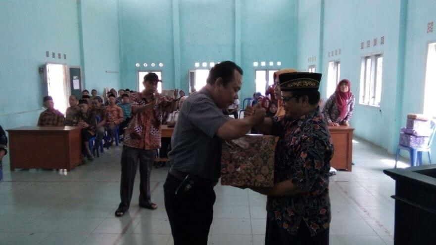 Sekdes Desa Dagan Pindah Tugas di Kantor Kecamatan Karangreja