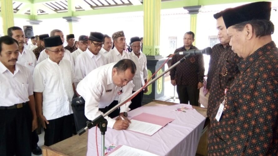 Dewan Harian Ranting BPPK 45 se-Kecamatan Bobotsari Dikukuhkan
