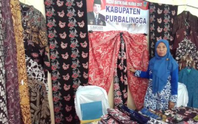 Pengrajin Batik Desa Dagan Wakili Purbalingga Ikuti Pameran UKM di Kabupaten Kudus