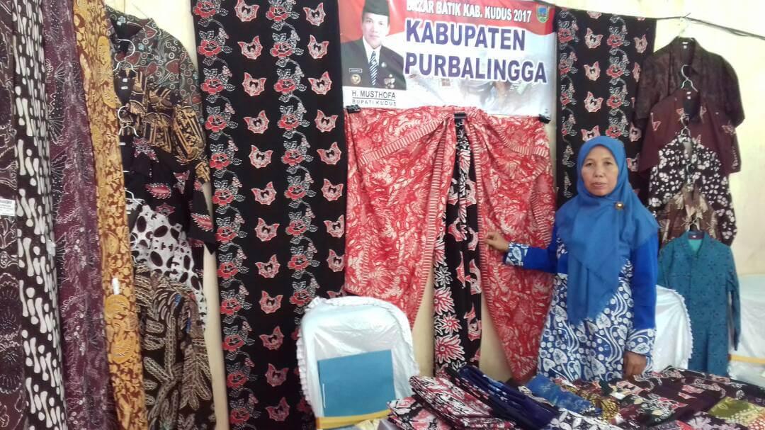 Pameran Batik Tulis desa Dagan di Kudus