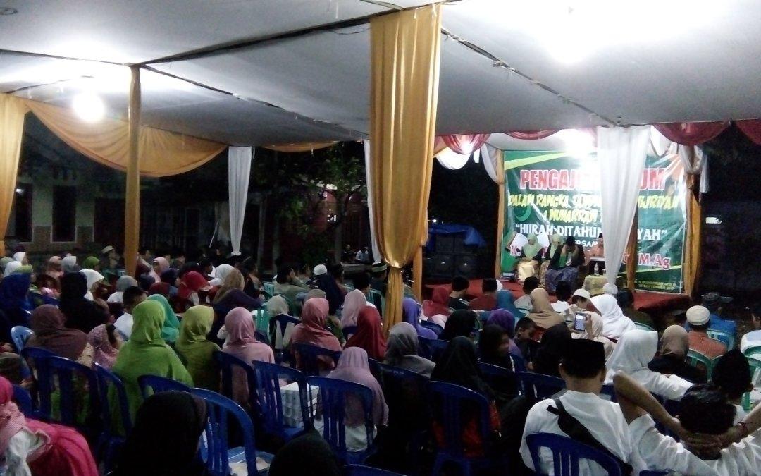Sambut Tahun Baru Hijriah, Pemuda Dusun 5 Gelar Pengajian