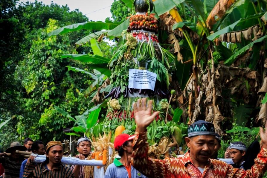 Kirab Budaya Dusun 4