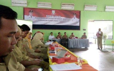 Kadinpermasdes Purbalingga, Kodadiyanto: Setiap Desa di Purbalingga Harus Memiliki Sistem Informasi Desa
