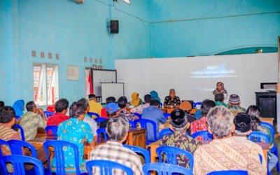 Tim Pelaksana Kegiatan Dana Desa Dagan 2017 Serahkan Hasil Pembangunan