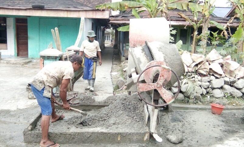 Pembangunan Rabat Beton Dusun I