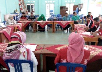 Pemerintah Kecamatan Bobotsari Melakukan Pembinaan Administrasi Kepada Pemdes Dagan