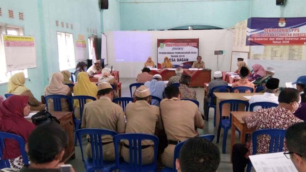BPD Dagan Selenggarakan Musdes Perencanaan Pembangunan Tahun 2019