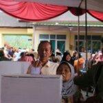 Calon Kades Petahana Unggul dalam Pilkades Desa Dagan