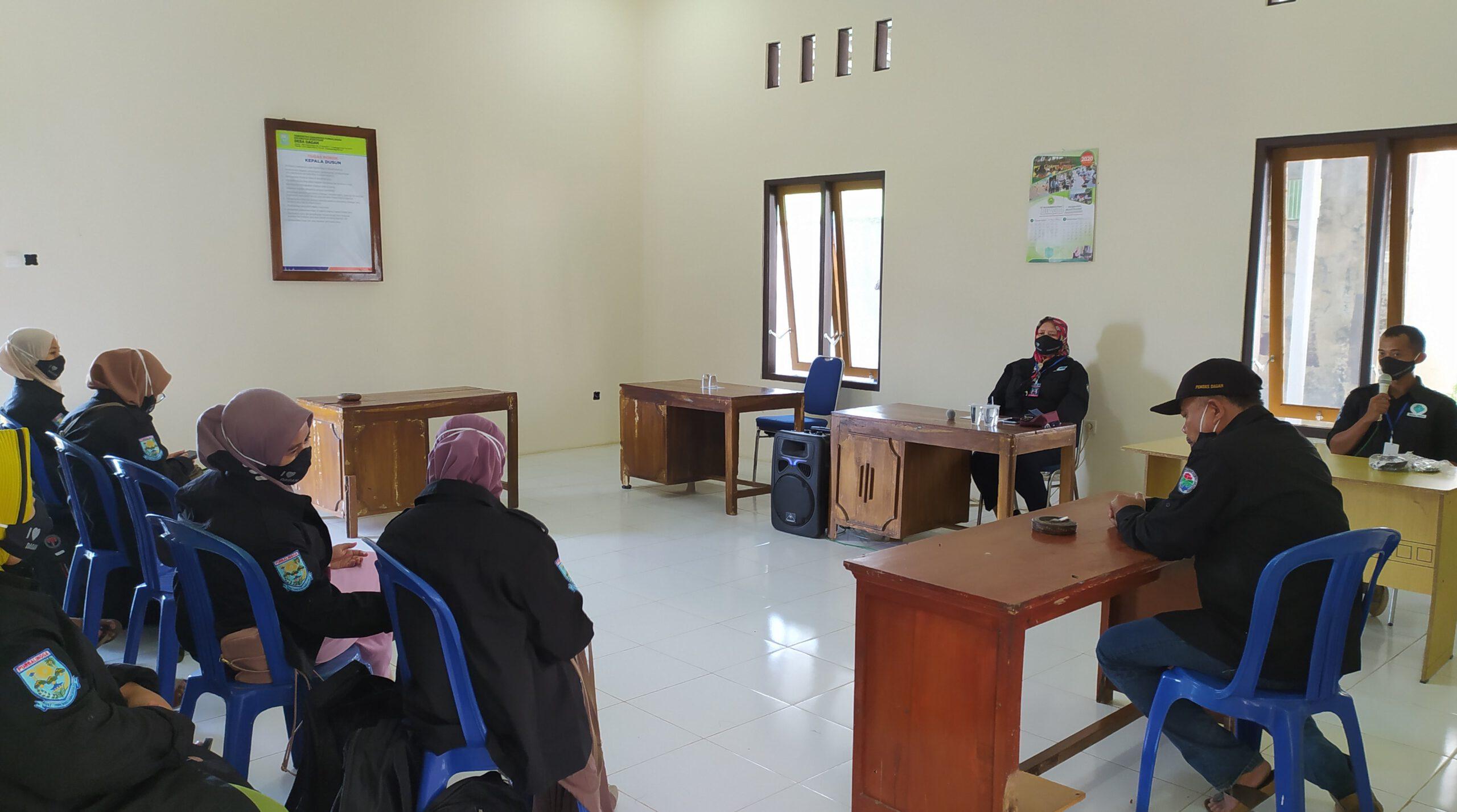 Pelepasan Tim Relawan SDGs Desa Dagan